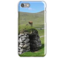 Soay lamb on cleit iPhone Case/Skin