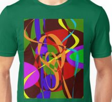 Irregular Abstract Forms and Lines Unisex T-Shirt