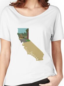 California: Sequoia Women's Relaxed Fit T-Shirt