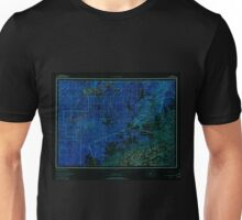 USGS TOPO Map Alaska AK Mount McKinley 361203 1958 250000 Inverted Unisex T-Shirt