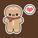 Cute Gingerbread Man by sugarhai