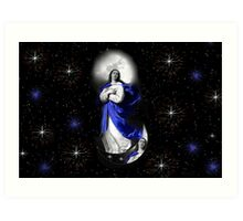 AND I WILL GIVE THEM THE MORNING STAR - CARD/PICTURE Art Print