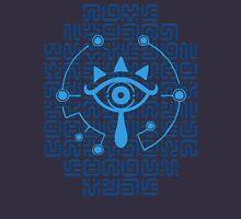 Blue Sheikah Runes Unisex T-Shirt