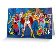 The Great Rebellion Filmation style Greeting Card