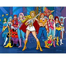 The Great Rebellion Filmation style Photographic Print