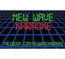 New Wave Karaoke - Digital Font - Prints, Cards & Posters Photographic Print