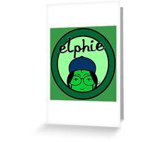 Elphie Greeting Card
