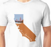 California: Golden Gate Bridge Unisex T-Shirt