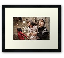 The Joys of Youth Framed Print