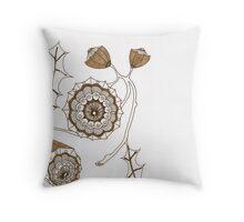 Seedpod Throw Pillow