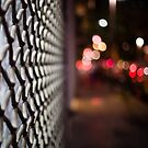 blurred street by Victor Bezrukov
