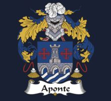 Aponte Coat of Arms/Family Crest Kids Tee