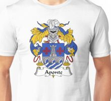 Aponte Coat of Arms/Family Crest Unisex T-Shirt