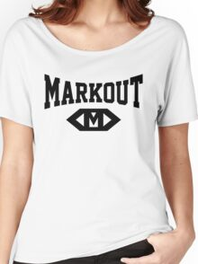 Markout (Black) Women's Relaxed Fit T-Shirt