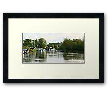 Hurley Riverside Framed Print