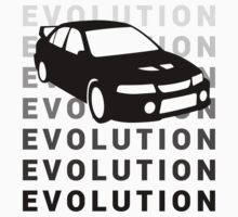 Mitsubishi Evolution JDM Car Shirt by MikeKunak