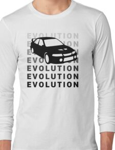 Mitsubishi Evolution JDM Car Shirt Long Sleeve T-Shirt