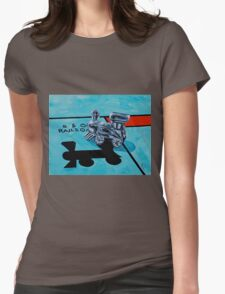 B and O Railroad Womens Fitted T-Shirt