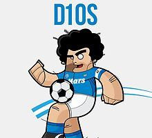 Maradona Phone Cases  by Diego Riselli