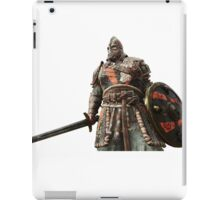 For Honor Game Artwork - Viking Warrior with sword and shield red iPad Case/Skin
