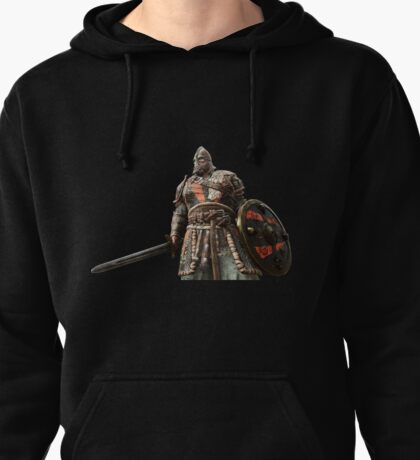 For Honor Game Artwork - Viking Warrior with sword and shield red Pullover Hoodie