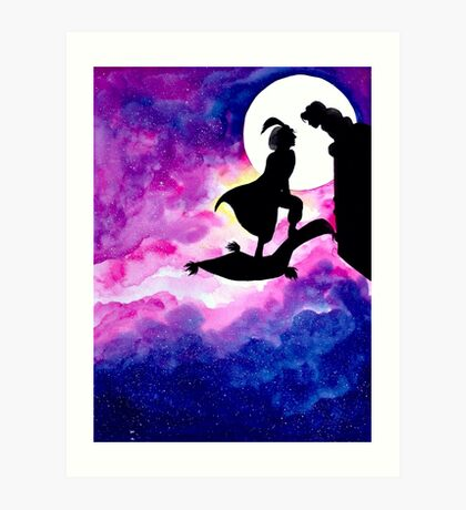 Jasmine & Aladdin Art Print