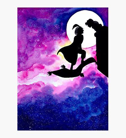Jasmine & Aladdin Photographic Print