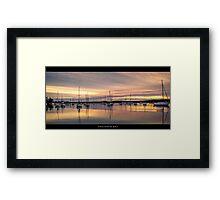 Croudace Bay  Framed Print