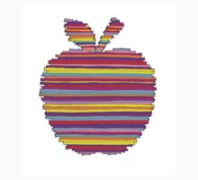 """""""The Big Apple"""" by ELIOT RAFFIT (Stacking Colors) Kids Tee"""
