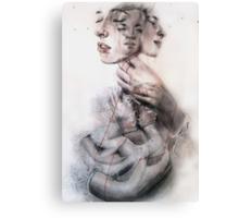 Slowly we unfurl Canvas Print