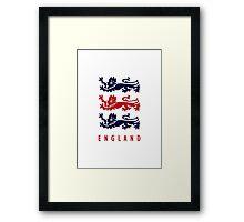 World Cup: England Framed Print