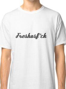 Fresh as Fuck Carbon Fibre / Fiber JDM Sticker Classic T-Shirt