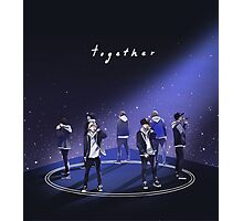 Together #3YearswithBTS Photographic Print