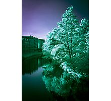 Infra-Red River II Photographic Print