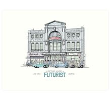 Futurist Cinema, Liverpool Art Print