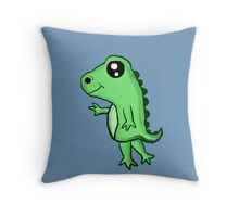Chibi T-Rex Throw Pillow