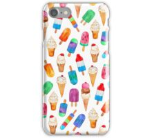 Summer Pops and Ice Cream Dreams iPhone Case/Skin