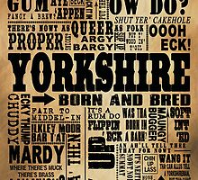 VINTAGE YORKSHIRE SAYINGS by DOOLALLY