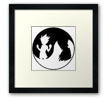 Hunter x Hunter-Gon Freecss & Hisoka Framed Print