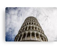 Pisa Tower Canvas Print