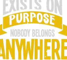 Rick & Morty; Nobody exists on purpose... Sticker