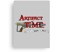 Artifact Time! Canvas Print