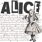 Alice In Wonderland with Text by Sally McLean