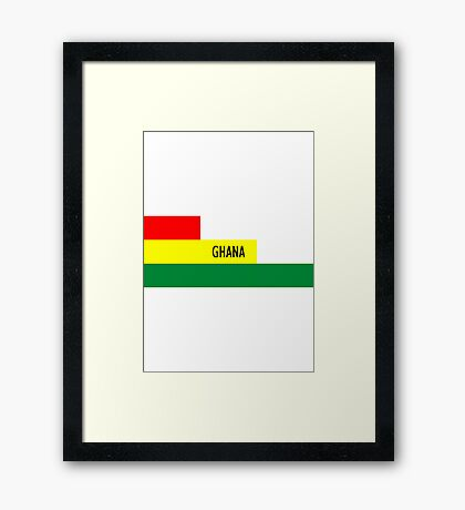 World Cup: Ghana Framed Print
