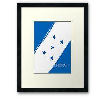 World Cup: Honduras Framed Print