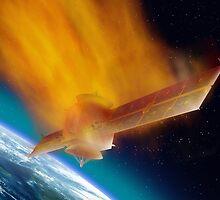 Satellite Reentry by Paul Fleet
