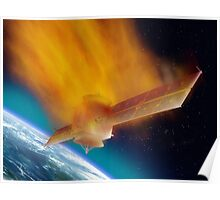 Satellite Reentry Poster