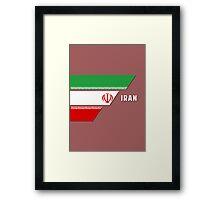 World Cup: Iran Framed Print