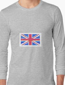 """The Union Jack"" by ELIOT RAFFIT (Stacking Colors) Long Sleeve T-Shirt"