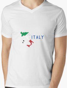 World Cup: Italy Mens V-Neck T-Shirt
